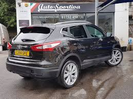 nissan qashqai alloy wheels used 2014 nissan qashqai tekna dig t top of the range spec for
