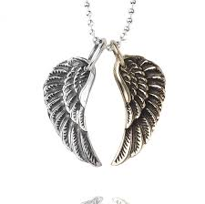 necklace wing images Small wing necklace by silver service jewellery jpg