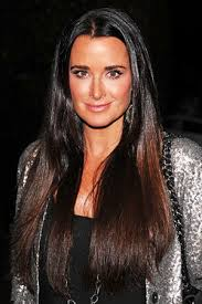 kyle richards hair extensions kyle richards long straight cut hairstyles zntent com