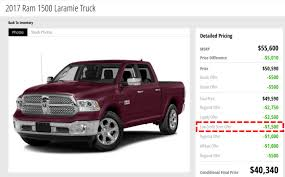 Exle Of A Credit Report by Signs Of An Auto Dealer Literally Offers Low Credit