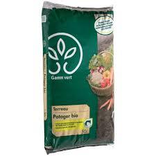 siege gamm vert terreau potager bio 50 l gamm vert sac de 50l gamm vert