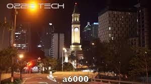 sony a6000 low light a6000 vs a6300 low light comparison youtube