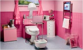 Girly Bathroom Ideas Pink Gadget Bathroom Décor