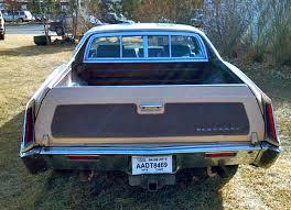 cadillac car truck 1970 cadillac eldorado customized rear view cars