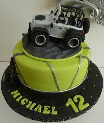 jeep cupcake cake rubicon jeep fondant cake truck is made of rk covered with fondant