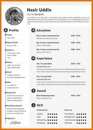 8 resume template it budget reporting