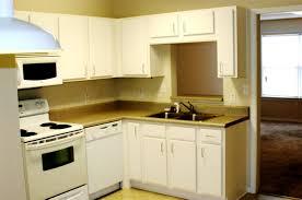 apt kitchen ideas cherry wood black door apartment kitchen decorating ideas