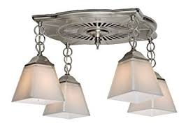 Nantucket Ceiling Light 80709 Montesino 110 Cfm 4 Light Bathroom Fan Brushed