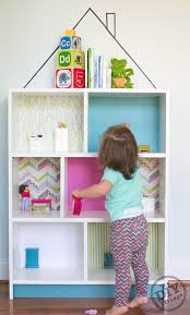 Pink Bookcase Ikea Billy Bookcase Diy Dollhouse Ikea Hack The Diy Village