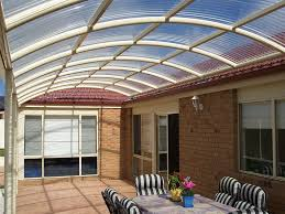 Roofing For Pergola by Polycarbonate Sheet Profiled For Roofing Suntuf Palram Australia
