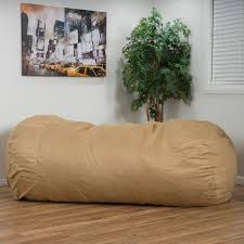 giant bean bags 8 foot giant u0026 comfy faux suede microfiber
