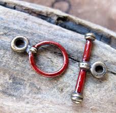 bracelet clasp images Enameled toggle clasp necklace clasp bracelet clasp bronze clasp jpg