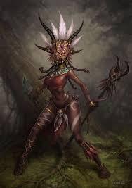 female witch doctor costume diablo3 concept arts u0026 design pinterest dark elf and concept art