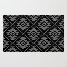 Aztec Design Rugs Aztec Design Rugs Society6