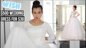 wedding dress for i bought a 30 wedding dress on wish original price 500