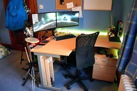 Kidney Shaped Executive Desk L Shaped Desk Ikea Image Of L Shaped Desk Plans Kidney Shaped Desk