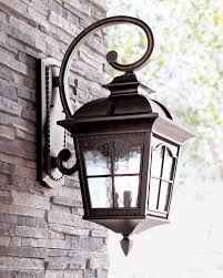 colonial three light wall lantern wall lantern water glass and lantern light fixture