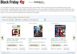when is amazon black friday 2012 amazon black friday 2012 deals for laptops including macbook pro