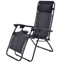 Folding Recliner Chair Patio Recliner Foldable Zero Gravity Lounge Chair Outdoor Chairs