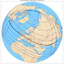 Eclipse Maps Maps Of All Solar Eclipses Until 2015