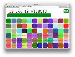 Colorschemer Github Nelsonic Colors A Little Experiment In Color Html Css