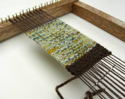 How To Make A Rag Rug Weaving Loom Weaving Loom Etsy
