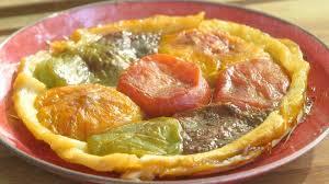 mytf1 fr recettes de cuisine recette de tatin de tomates multicolores à la vanille petits plats