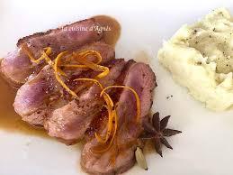 cuisiner un filet de canard filet de canard à l orange et aux épices la cuisine d agnèsla