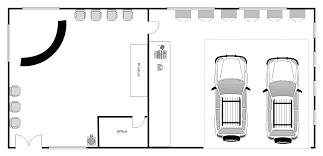 Automotive Shop Layout Floor Plan | auto repair shop layout