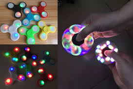 a light up fidget spinner 7 99 reg 20 led light up fidget spinners
