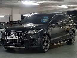Used Audi Q7 Suv 4 2 Tdi S Line Station Wagon Tiptronic Quattro