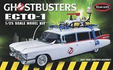 ecto 1 for sale polar lights ghostbusters ecto 1 1 25 snap model kit 914 ebay