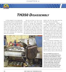 hydramatic 350 transmission shop manual book how to rebuild repair