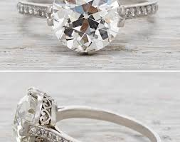 ring vintage rings wonderful how much is a 1 carat