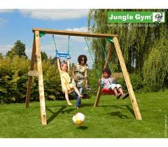 Backyard Jungle Gym by Wooden Playground Equipment For Your Garden Jungle Gym