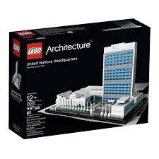 Lego Headquarters Amazon Com Lego Architecture United Nations Headquarters