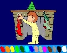 coloriage de noel coloriages à faire en ligne spécial noël