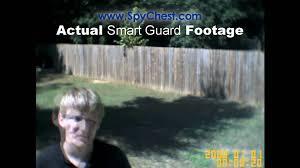 smart outdoor flood light smart guard flood light outdoor camera spy chest youtube