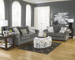 gray sofa and loveseat makonnen charcoal 78000 signature design
