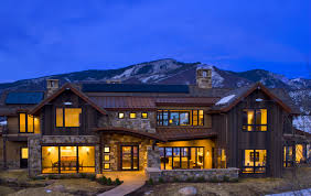 Mountain Home Interiors by Mountain Rustic Modern Whistler Mountain Style Exteriors