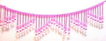 Pink Hanging Door Beads by Buy Ratna Toran Beads Crystal Bandhanwar Online At Low Prices In