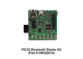 pic32 bluetooth starter kit dm320018 microchip technology inc