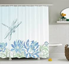 amazon com country decor shower curtain set by ambesonne