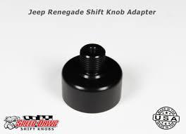 jeep shift knob jeep renegade shift knob adapter