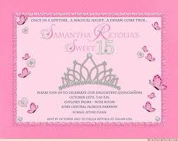 princess quinceanera invitation 15th birthday royal