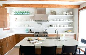 Kitchen Drawers Instead Of Cabinets by Styling Kitchen Shelves Instead Of Cabinets Open Kitchen Shelves