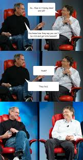 Bill Gates Meme - steve jobs vs bill gates memes quickmeme