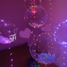 gifts in balloons china led christmas gift led balloon 18inch led light bobo balloon