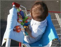 siege de caddie siège pour caddie bébé 964664 protection de cad la cabane à couture