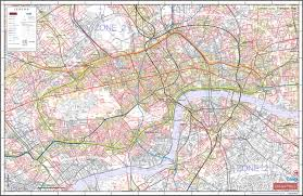 Transport Map Meridian99 Com U2013 Central London Transport Map